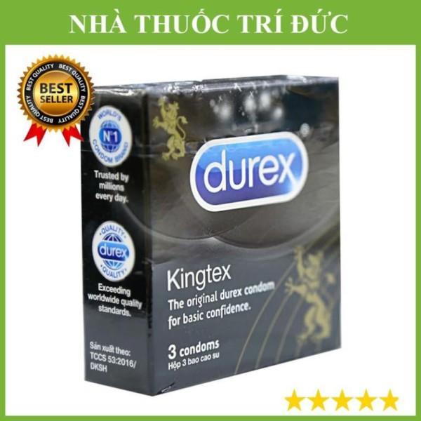Bao cao su Durex(hộp 3 miếng) Kingtex cao cấp