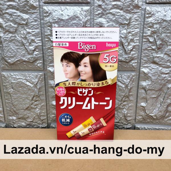 Kem Nhuộm Tóc Bigen Hoyu 80g 3G 4G 5G 6G 7G của Nhật Bản nhập khẩu