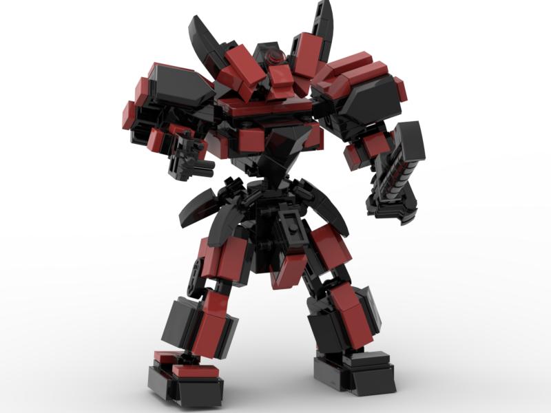 Voucher Khuyến Mãi Đồ Chơi Lắp Ráp Lego Moc Mech Demon