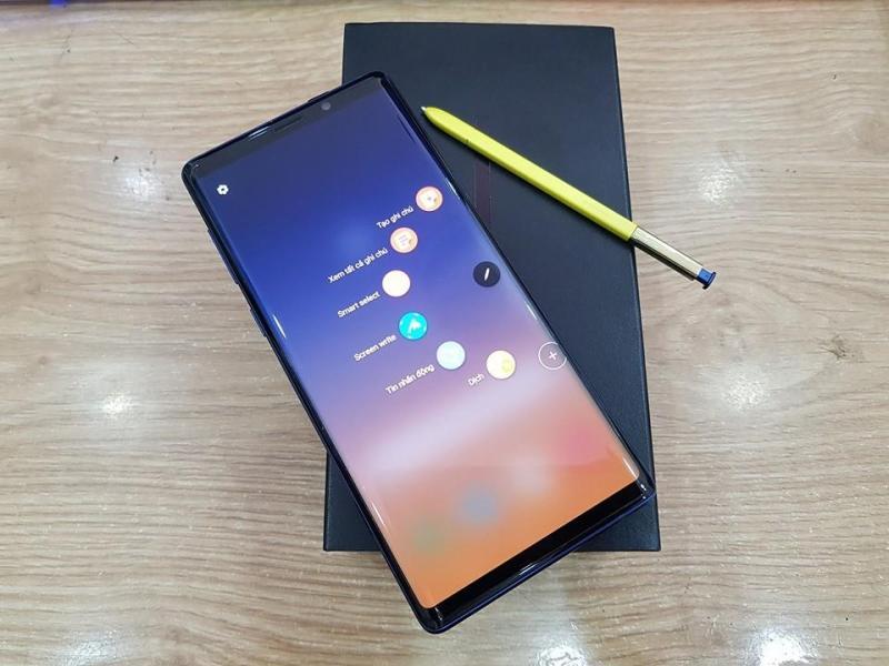 Điện Thoại samsung Galaxy Note 9 bản 2 sim Quốc tế chạy chip Snap dragon 845 cực mạnh model N9600 cực hiếm | Tặng đủ Phụ kiện | tại Playmobile