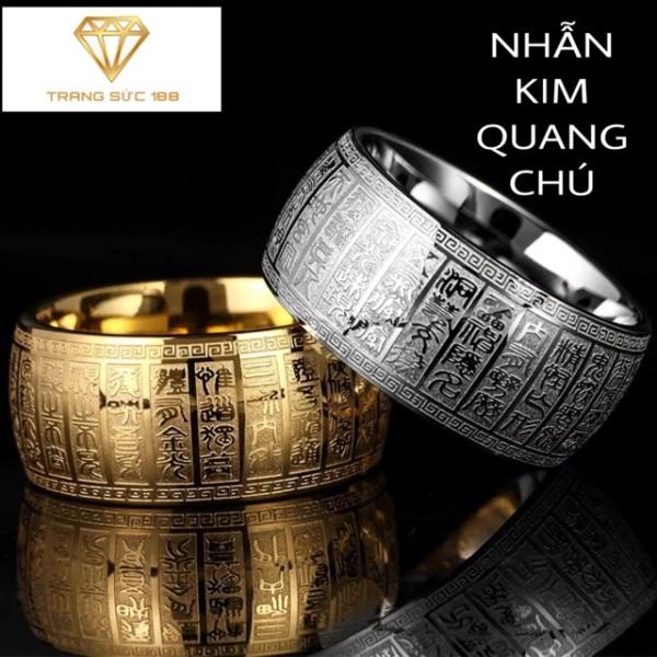 Nhẫn titan ko đEn Kim Quang Chú
