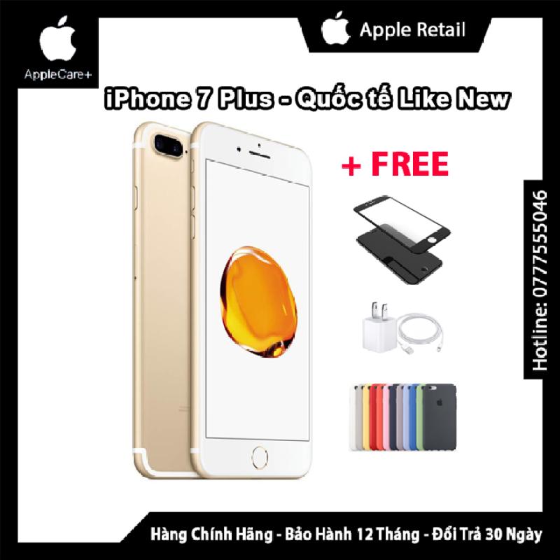 Điện thoại iPhone7 Plus 32GB Quốc Tế Chính Hãng Giá Rẻ [ Tặng Cáp sạc củ sạc ốp lưng cường lực dán màn hình ] [ Shop còn có iPhonê iPhone7 Plus iPhone6S 6S plus 6s APPLEIPHONE 5 6 4 iPhoneX XS Max 11 Pro Max 16Gb 32Gb 64GB 128Gb 256GB ]