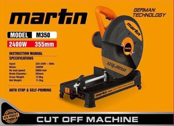 Máy cắt sắt bàn MARTIN 2400w mẫu mới 2020