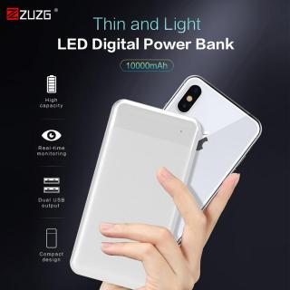 ZUZG cho iPhone Samsung Huawei - cổng Type C và Micro Dual Input USB - Dung lượng 10000mAh thumbnail
