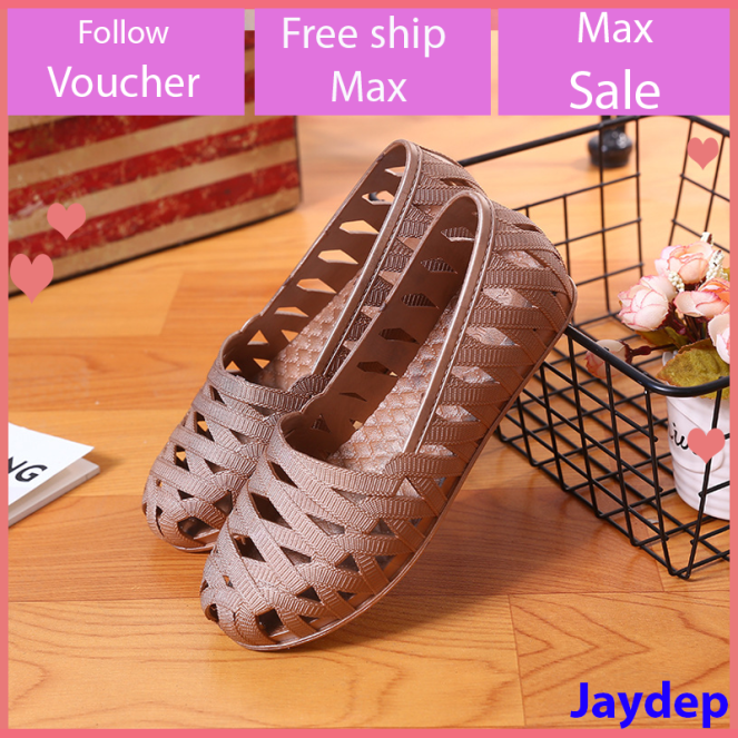 Giày đi mưa giày đi biển chống trơn trượt đế bằng phù hợp cho mùa hè V163 giá rẻ