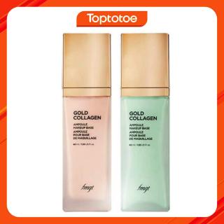 Kem Lót Bổ Sung Vàng & Collagen Thefaceshop Fmgt Gold Collagen Ampoule Makeup Base SPF30 PA++ 40ml thumbnail