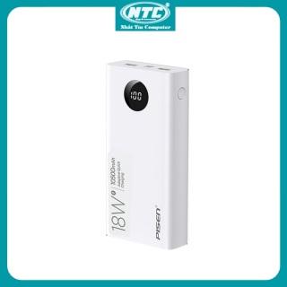 [HCM]Pin sạc dự phòng Pisen Quick TS-D290 10500mAh 2 USB QC3.0 TypeC PD 18W hiển thị LED (Trắng) - Nhất Tín Computer thumbnail