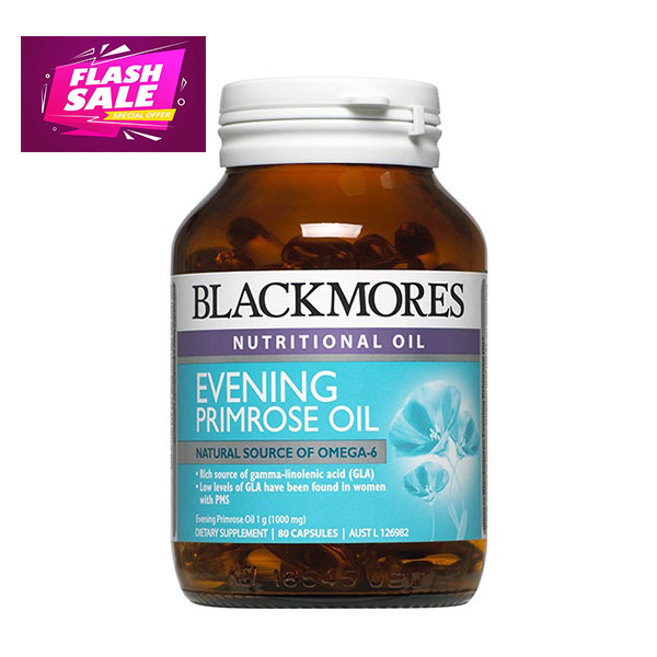 Sale giá sỉ Tinh dầu hoa anh thảo Blackmores Evening primrose oil 190v giá rẻ