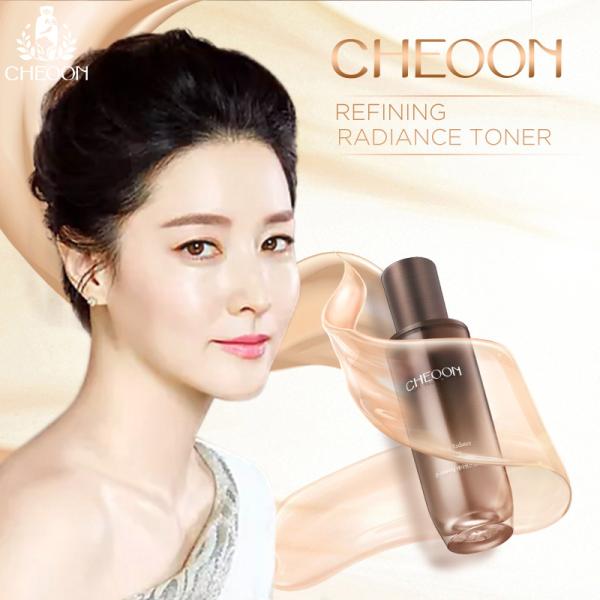 Toner nước cân bằng da, giữ ẩm và làm sáng da, CHEOON REFINING RADIANCE TONER cao cấp