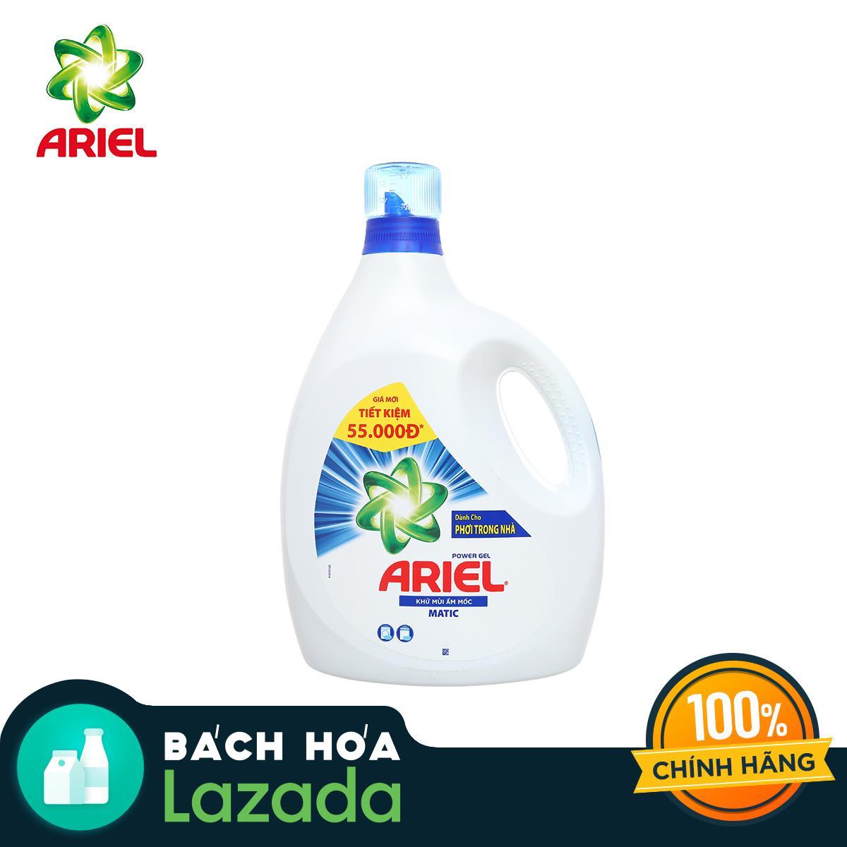 Nước Giặt Ariel Khử Mùi 3.4kg