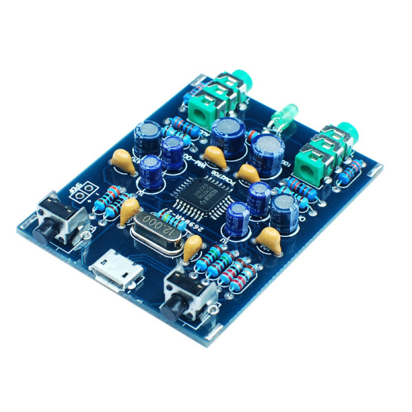 Giá PCM2706 HI USB Soundcard DIY Kit USB DAC SPDIF Android Compatible MicroUSB Windows Without Driver Plug and Play