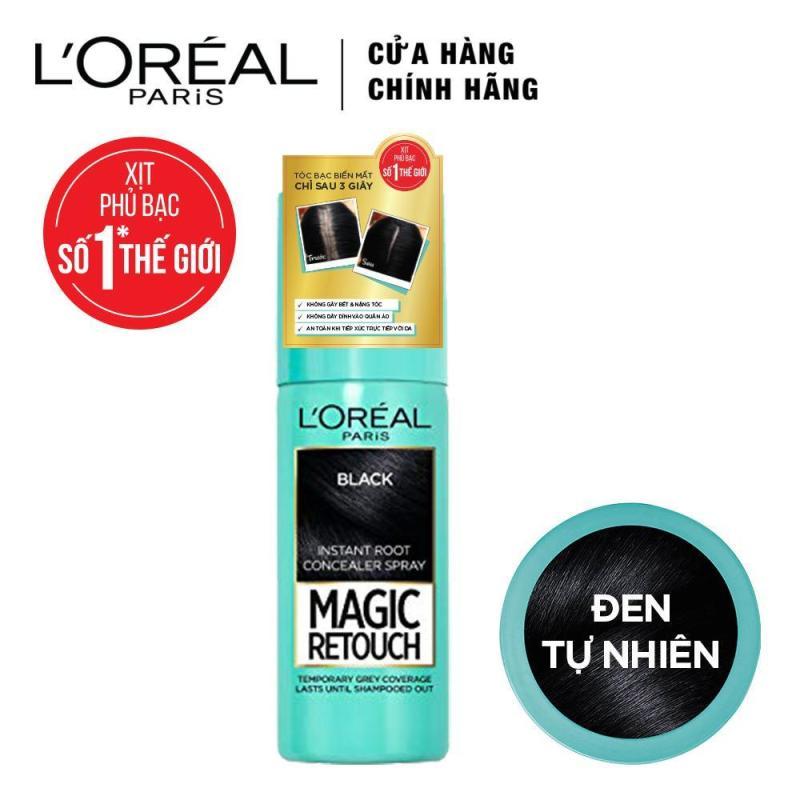 Xịt phủ bạc chân tóc tạm thời LOreal Paris Magic Retouch 75ml nhập khẩu