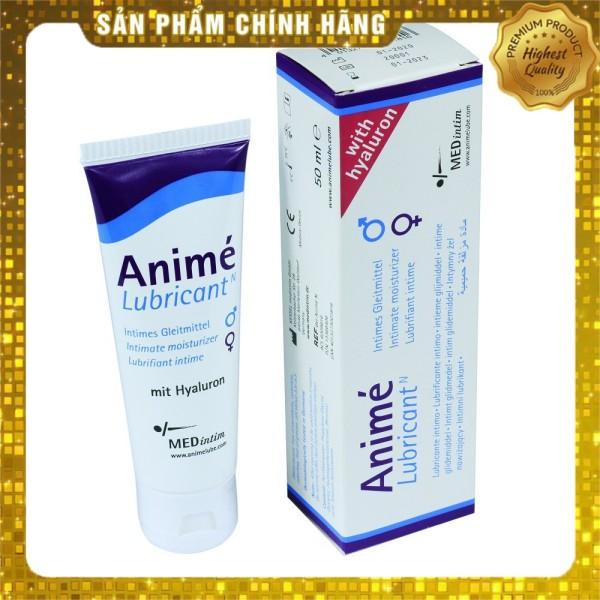 Gel bôi trơn tạo độ ẩm cân bằng PH Medintim Anime - 50 ml - nhập khẩu Đức giá rẻ