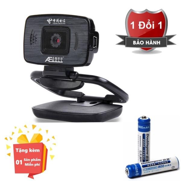 Bảng giá ( Tặng kèm 2 Pin sạc AAA chất lượng cao ) Webcam tích hợp Micro cho máy tính, PC, Laptop U22W - Webcam học online tại nhà U22W - Webcam online kèm Micro U22W Phong Vũ