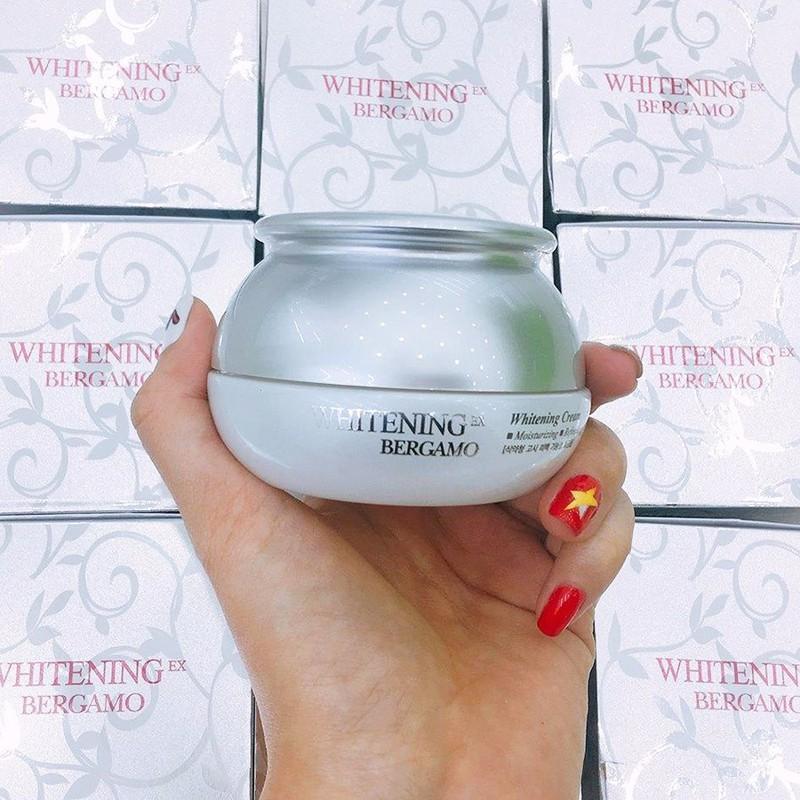Kem Dưỡng Trắng Da Và Giữ Ẩm Bergamo EX Whitening Cream (50g)
