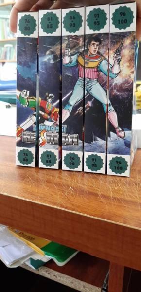 Mua Dũng sĩ Hesman box 16 đến 20 (bộ 5 box từ tập 76 đến 100)