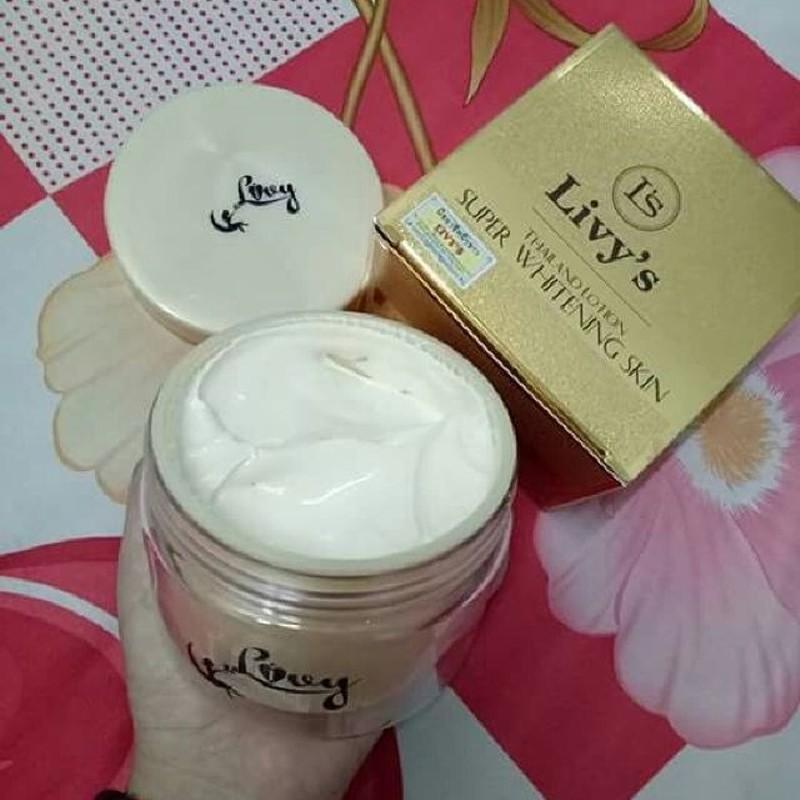 Kem body Livys Thái Lan dưỡng trắng da cực hot giá rẻ