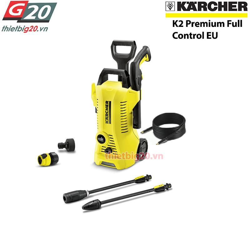 Máy rửa xe gia đình Karcher K2 Premium Full Control EU