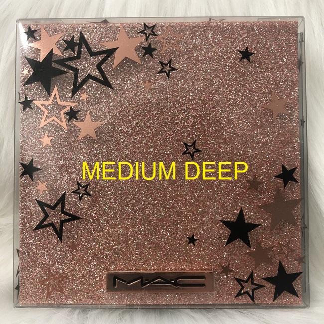 MAC - Star Dipped Face Compact: MEDIUM DEEP - Bảng Phấn Tạo Khối, Má Hồng, Highlight MAC tốt nhất