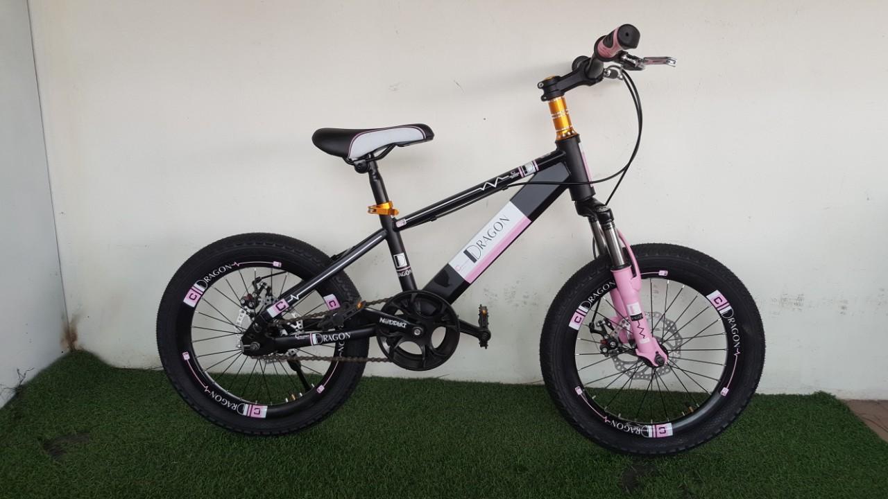 Mua xe đạp trẻ em DRAGON màu hồng nữ tính