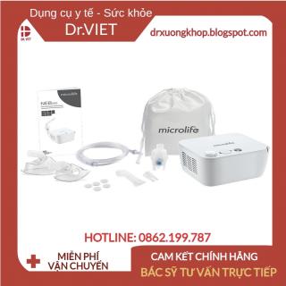 Máy xông khí dung mũi họng Microlife NEB200 cao cấp chính hãng Thụy Sĩ-Bảo hành 2 năm- Kiểu dáng sang trọng, chắc chắn thumbnail