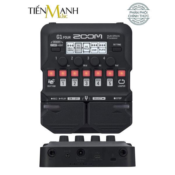 Zoom G1 Four - Phơ Đàn Guitar Bàn đạp Fuzz Pedals Effects Ghi-ta Điện Electric đã cài bộ tiếng backup hay và đầy đủ cho Cổ Nhạc Tân Nhạc... - Sử Dụng Pin hoặc Power Adapter