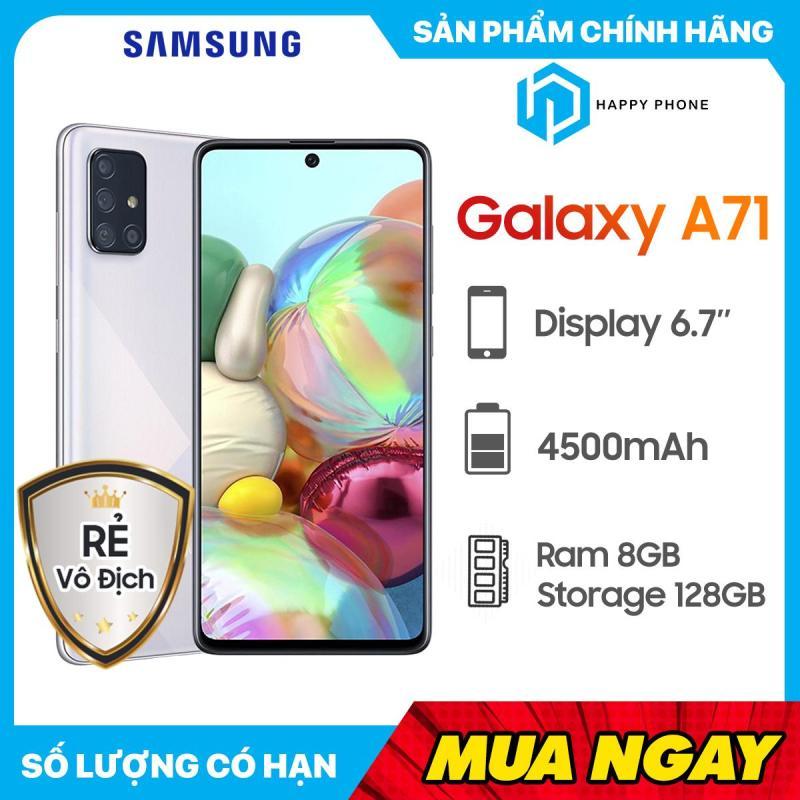 [Hàng chính hãng] Điện Thoại Samsung Galaxy A71 ROM 128GB RAM 8GB - Hàng Nguyên seal, mới 100%, Bảo hành 12 tháng