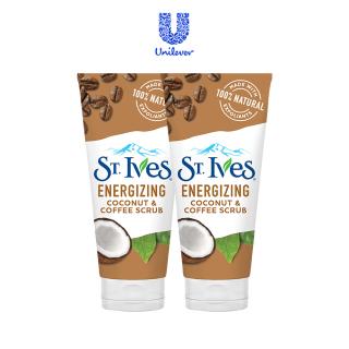 Sữa Rửa Mặt ST.IVES Tẩy Tế Bào Chết Chiết Xuất Dừa Và Cà Phê Energizing Coconut & Coffee Scrub 170g Chính hãng Mỹ thumbnail
