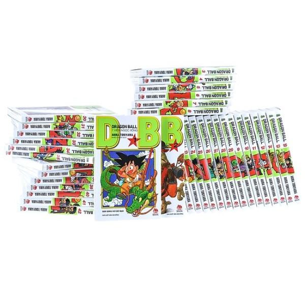 Mua Sách - Combo Dragon Ball 7 viên ngọc rồng - trọn bộ 42 tập