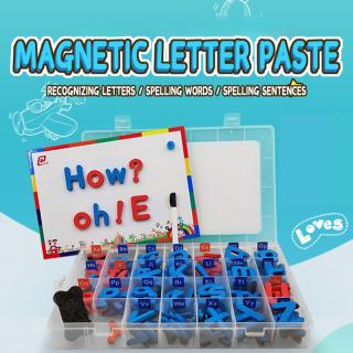 CNUH MALL Các chữ cái đầy màu sắc Bảng chữ cái Số Tủ lạnh Từ tính cho Bé Đồ chơi trước tuổi đi học Đồ chơi thần tài chống căng thẳng thumbnail
