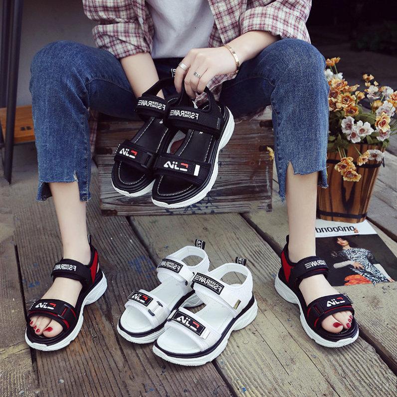 Sandal nữ quai ngang EIA chất liệu vải dù cao cấp, phong cách hàn quốc, thích hợp sử dụng đi học, đi chơi, dạo phố, mẫu dép quai hậu nữ hot 2020 giá rẻ