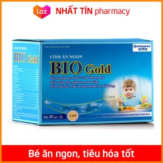 Cốm ăn ngon Bio Gold giảm tiêu chảy, táo bón, tăng cường sức đề kháng cho bé - Hộp 20 gói - NHẤT TÍN PHARMACY thumbnail