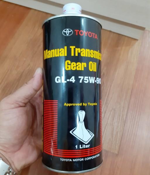 [ NHỚT HỘP SỐ- CẦU TOYOTA] Toyota Manual Transmission Fluid GL-4 75W-90 1L