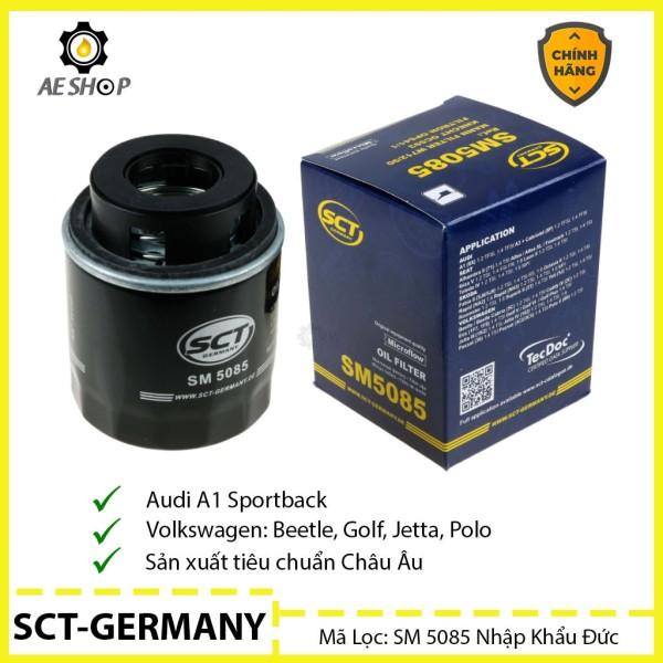 Lọc Dầu Ô Tô Audi A1, Volkswagen Beetle, Golf, Jetta, Polo SCT-GERMANY SM 5085 Nhập Khẩu Đức [Chính Hãng]
