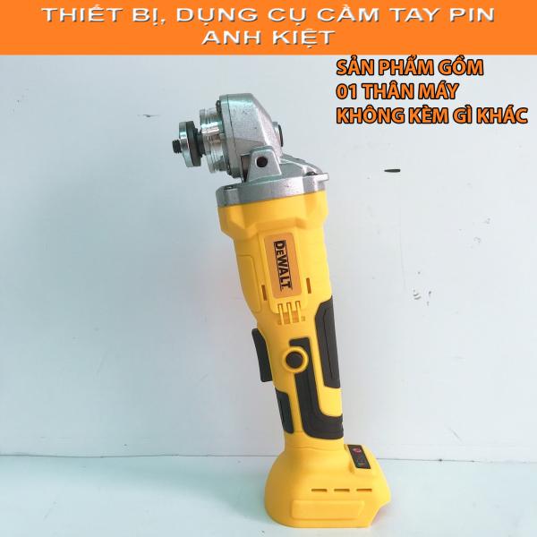 Máy mài, máy cắt dùng pin không chổi than Dewalt 118V Kèm 2 pin khủng 10 cell
