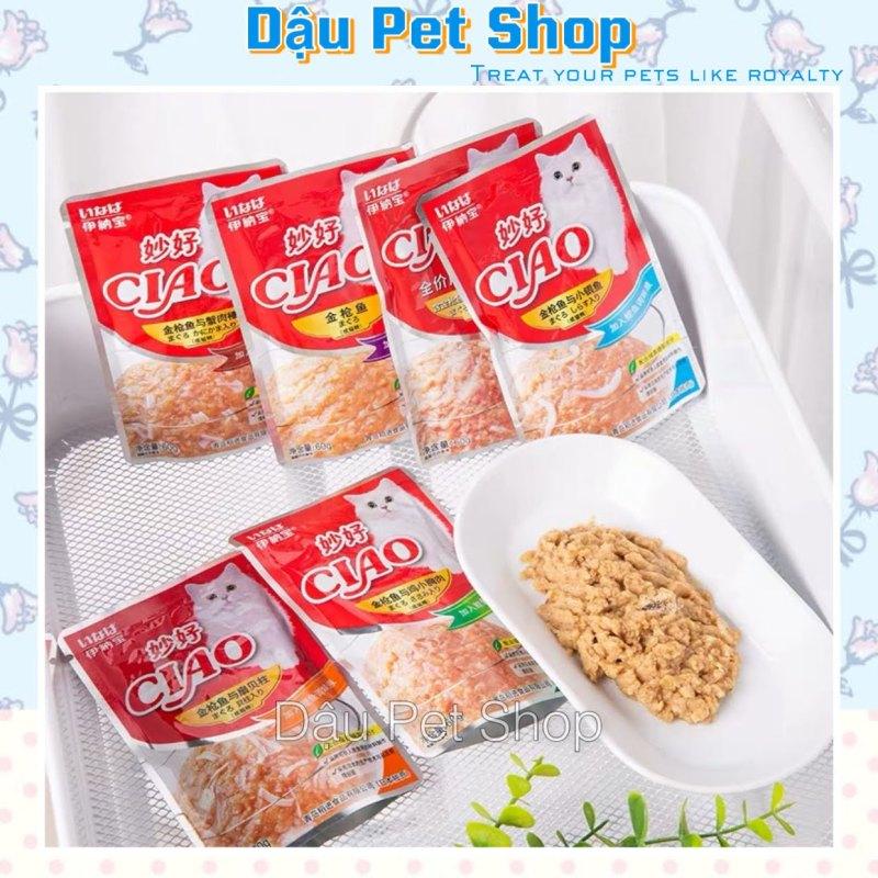 Pate Ciao Cho Mèo Gói 60g