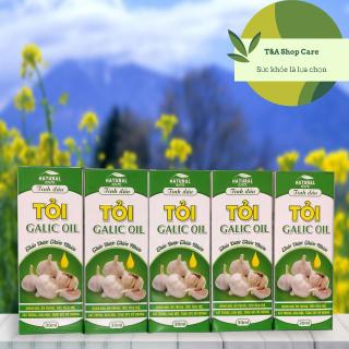 Tinh dầu tỏi Lucky Oil tăng cường hệ miễn dịch ngăn ngừa ung thư chai 30 ml thumbnail