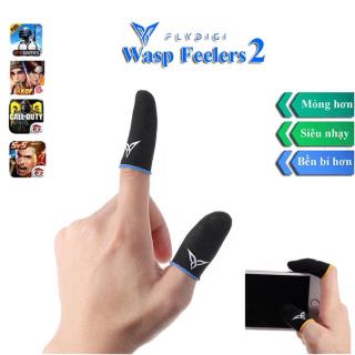 Flydigi Wasp Feelers 2 Găng tay chơi game Mobile siêu nhạy, siêu co dãn, siêu mỏng nhẹ như chơi tay trần, Bao tay chơi Game, Ngón tay chơi game thumbnail