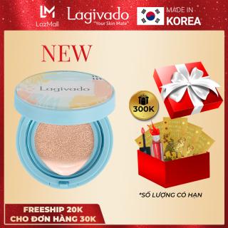 Phấn nước che khuyết điểm Hàn Quốc chính hãng Lagivado kiềm dầu, trang điểm cho lớp nền mỏng mịn, tự nhiên Just Perfection Cushion Foundation - Tone Trắng sáng thumbnail
