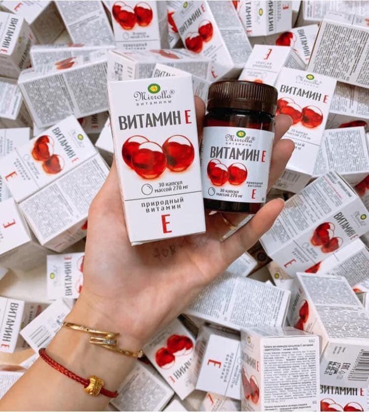 vitamin E đỏ của nga nhập khẩu