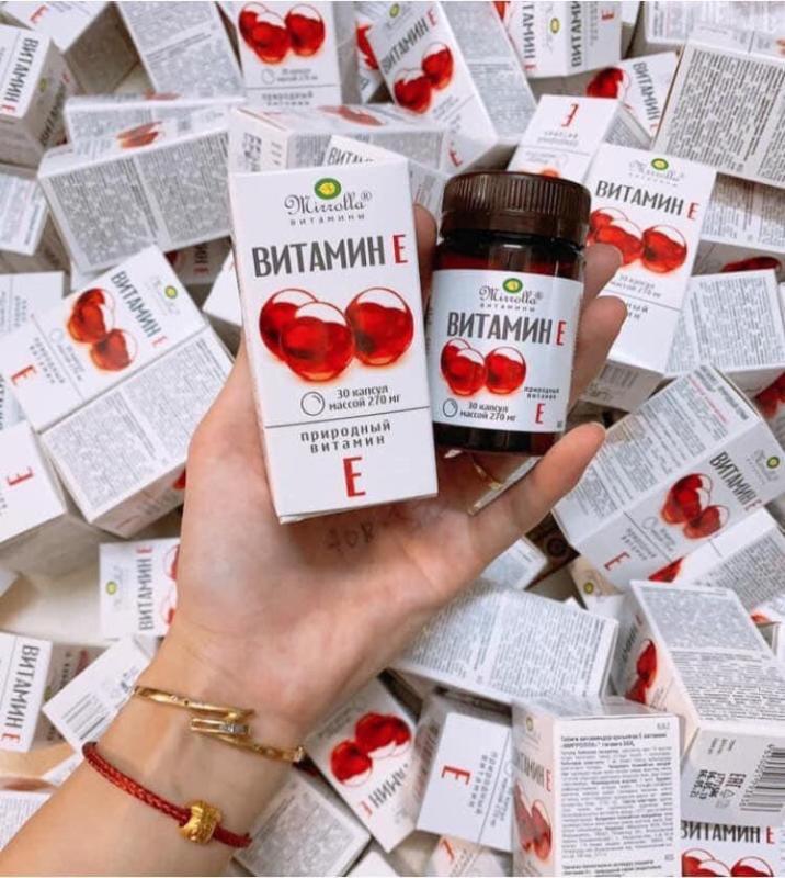 vitamin E đỏ của nga cao cấp