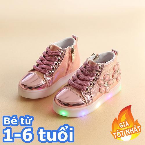[SIÊU RẺ] Giày bốt cao cấp bé gái từ 1 đến 8 tuổi  - giày dép trẻ em đẹp - giá rẻ