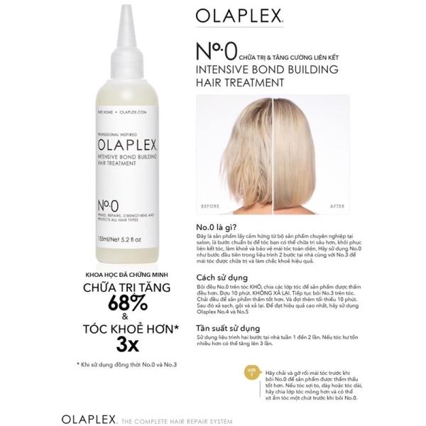 👍👍👍HÀNG CHÍNH HÃNG - Giá trị nói lên đẳng cấp👍👍👍 Olaplex No0 - siêu phẩm phục hồi tại nhà No.0 dành cho tóc yếu cao cấp