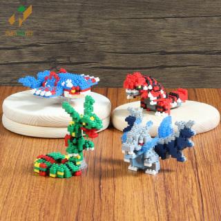 Bộ đồ chơi Lego xếp hình nhân vật Pokemon huyền thoại thumbnail