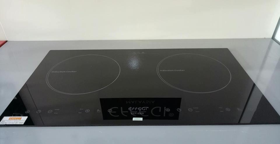 Bếp điện từ đôi âm tường Effegi ECT-5305 ( nhập khẩu Malaysia)
