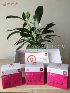 Viên hồng sâm nhập khẩu Hàn Quốc HWA AE RAK Q - Sản phẩm làm đẹp dành cho phụ nữ (Hộp nhỏ 40 viên x 500mg) thumbnail