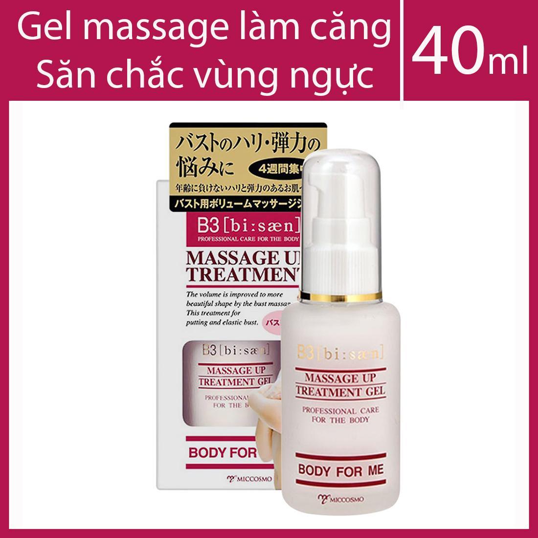 Gel massage làm căng và săn chắc vùng ngực B3 Massage Up Treatment Gel 40ml