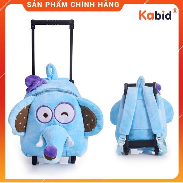 Giá bán Balo kéo cho bé đi nhà trẻ đi du lịch  siêu nhẹ họa tiết thú bông dễ thương ( Cho bé 2-5 tuổi )