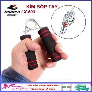 Dụng cụ tập cơ tay cao cấp LEIKESI LX-603, dụng cụ bóp tay, tập lực tay, kìm bóp tay, kìm bóp cơ tay thumbnail