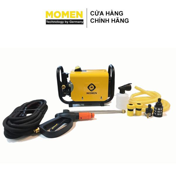 Máy xịt rửa xe áp lực cao dạng nằm bán công nghiệp Momen công suất 2200w có núm vặn (năng +-18kg)